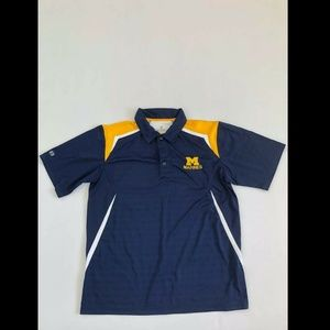 Marines Men's Blue Short Sleeved Collared Button D
